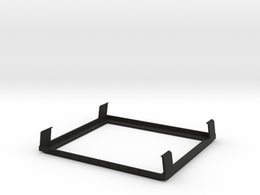 TS WM Injection Mold Prototype in Black Strong & Flexible