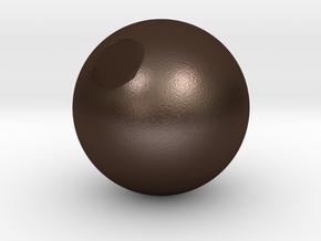 Sphere3 in Matte Bronze Steel