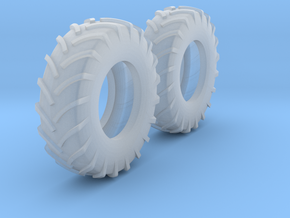 1:64 scale 18.4-30 Tires in Smooth Fine Detail Plastic