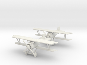 "SSW D.III ""Wingman"" 1:144th Scale in White Natural Versatile Plastic"