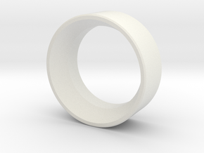 Prolimit Extension Ring in White Natural Versatile Plastic