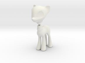 Wip4 in White Natural Versatile Plastic