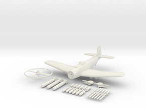 1/144 Martin AM-1 MAuler in White Natural Versatile Plastic