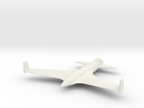 1/300 Henschel Hs P 87 in White Natural Versatile Plastic