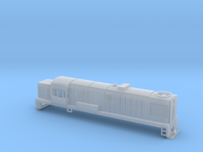 DJ Locomotive, New Zealand, (HO Scale, 1:87) in Smooth Fine Detail Plastic