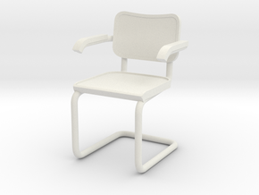 1:24 Breuer Chair (Not Full Size) in White Strong & Flexible