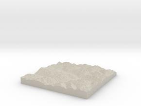 Model of Serneus in Natural Sandstone