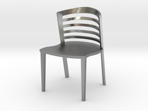 "Lowenstein Chair 3.8"" tall in Natural Silver"