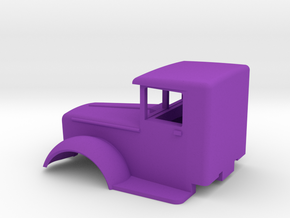 Mack-cab-1to72-07mm in Purple Strong & Flexible Polished