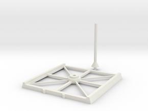 Base Cheap 8x8 in White Natural Versatile Plastic