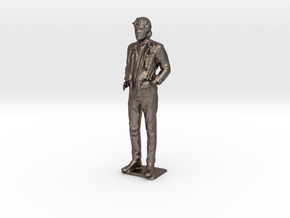 Zach B - Pre Maker Faire Meetup May 2014 in Polished Bronzed Silver Steel