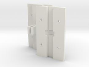 3rd Bearing Holder for Blade 130X in White Natural Versatile Plastic