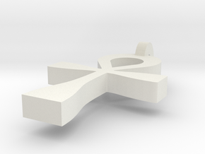 Ahank 2 in White Natural Versatile Plastic