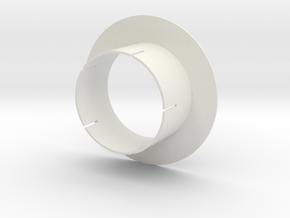 Sensordisc 70mm in White Natural Versatile Plastic