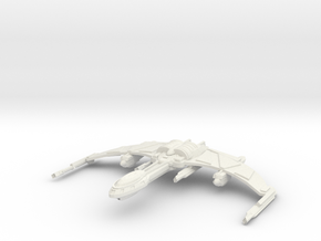 FireBird Class HvyCruiser in White Strong & Flexible