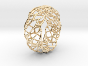 Voro Ring No.1 in 14K Yellow Gold