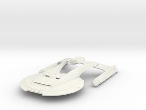 USS Thunderchild in White Natural Versatile Plastic