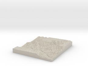 Model of Phantom Ranch in Natural Sandstone