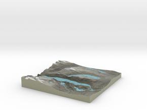 Terrafab generated model Sat May 31 2014 04:07:08  in Full Color Sandstone