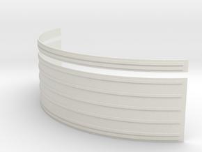 Apollo SM Rad Panel Large 1:10 in White Natural Versatile Plastic