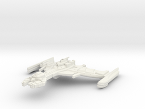 K'utla Class Cruiser in White Natural Versatile Plastic