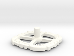 Station Storage Ring II in White Processed Versatile Plastic