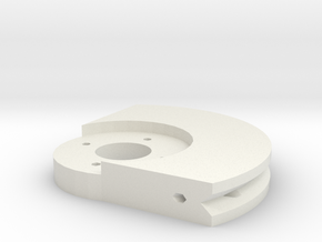 String Puller Servo Horn in White Strong & Flexible