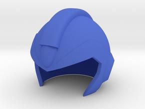 Megaman X Helmet in Blue Processed Versatile Plastic