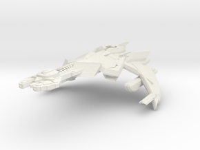 K'Mara Class HvyCruiser in White Strong & Flexible