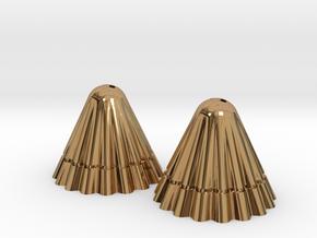 Apollo pierce in Polished Brass