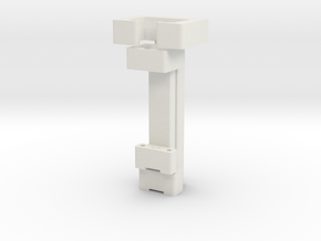 3D Print Probes Stands AllCATPart in White Natural Versatile Plastic