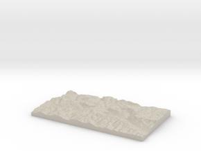 Model of Shelter in Natural Sandstone