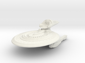 Roundrock Class Destroyer in White Strong & Flexible