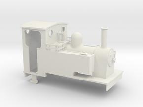 1:35 scale side tank loco  in White Natural Versatile Plastic