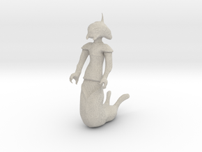 Alien Naga Mini in Natural Sandstone