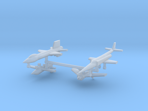 1/600 Experimental Aircraft Set 1 in Smooth Fine Detail Plastic