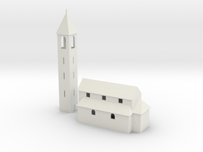 Kirche / church of San Nazzaro in White Natural Versatile Plastic