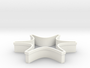 Shapeways Spark in White Strong & Flexible Polished