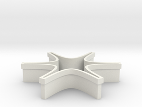 Shapeways Spark Origin in White Natural Versatile Plastic