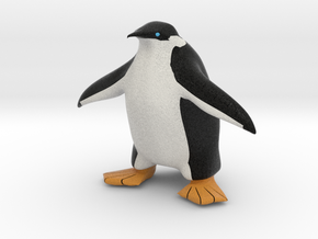 Tux the Penguin in Full Color Sandstone