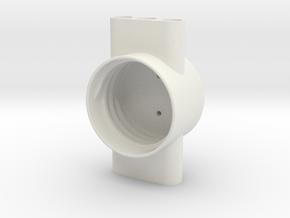 Air bottle cap in White Natural Versatile Plastic