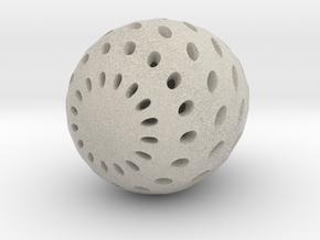 Egg in Natural Sandstone