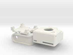 Sony 600TVL Enclosure (PnT-mount) in White Natural Versatile Plastic