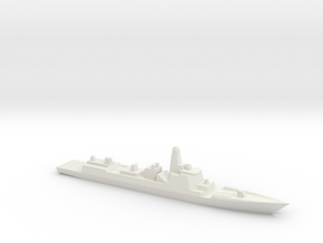 Type 052D 1/1800 in White Strong & Flexible