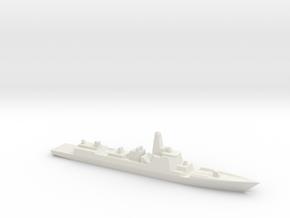 Type 052D 1/3000 in White Natural Versatile Plastic