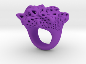 Nebula Ring in Purple Strong & Flexible Polished