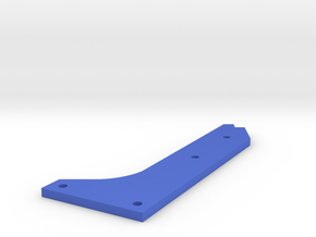 Mini Titan Upgraded Battery Mount in Blue Processed Versatile Plastic