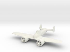1/200 Grumman G34 Skyrocket / XF5F-1 in White Natural Versatile Plastic