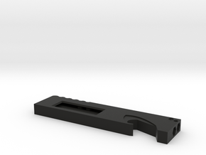 Utility-blade holder w/ hole in Black Strong & Flexible