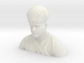 Max Hair in White Natural Versatile Plastic
